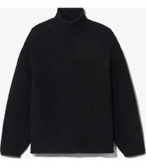proenza schouler white label cotton turtleneck sweater black/red m