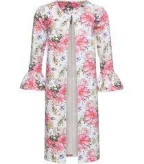 giacca a fiori (bianco) - bodyflirt boutique