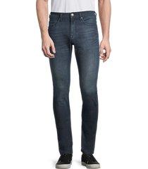 buffalo david bitton men's max-x skinny-fit stretch jeans - deep indigo - size 34 30