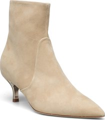 furla code shoes boots ankle boots ankle boot - heel beige furla