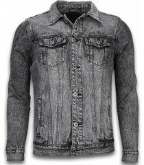 spijkerjasje denim jacket - stonewashed look