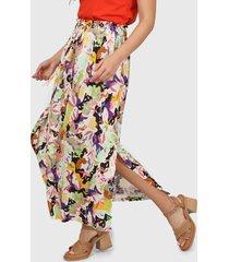 falda multicolor asterisco montilla