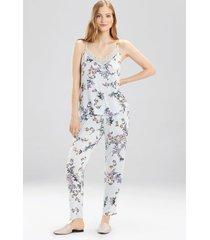 free spirit tank pajamas, women's, purple, size s, josie