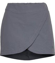 w inlux skort kort kjol grå the north face