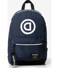ecoalf backpack with message - material finishes - u