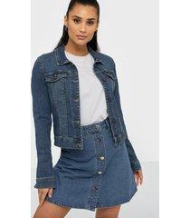 noisy may nmdebra l/s denim jacket noos jeansjackor