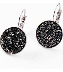 orecchini pendenti con cristalli swarovski® (argento) - bpc bonprix collection