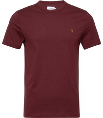 danny short sleeved t-shirt t-shirts short-sleeved röd farah
