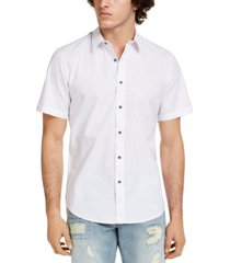 sun + stone men's les solid short sleeve shirt, created for macy's