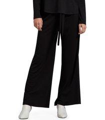 women's michael stars gloria cambria wide leg stretch crepe pants
