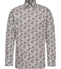 green multi paisley poplin shirt skjorta casual multi/mönstrad eton