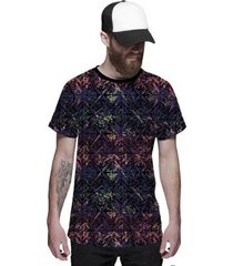 camiseta di nuevo coqueiros neon psy verão masculina - masculino