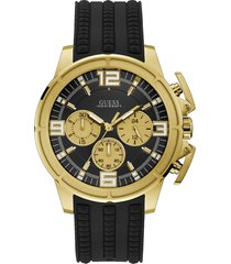 reloj guess apollo/w1115g1 - negro con dorado