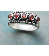 crimson row ring