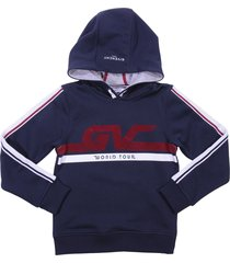 givenchy navy blue cotton sweatshirt hoodie