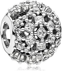 925 sterling silver snow flurry winter charm bead fit pandora bracelet qjcb1354
