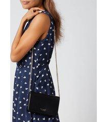 kate spade new york women's spencer chain wallet - black
