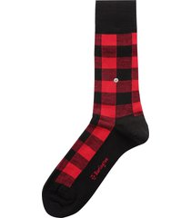 shining socks - red/black 21853-3000