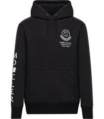2 moncler 1952 black hoodie sweater