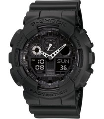g-shock men's black resin watch, 55mm