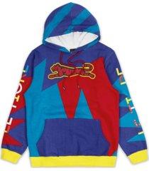 le tigre men's color geo hoodie