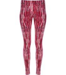 leggings sport desgaste de color color rosado, talla xs