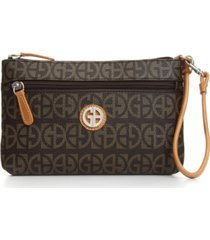 giani bernini block signature wristlet, created for macy's