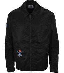 opening ceremony oc embroidered varsty jacket