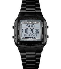 skmei 1323 reloj de pulsera digital resistente al agua para hombres