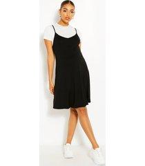 maternity 2 in 1 swing dress