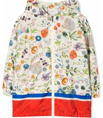 gucci flora print jacket