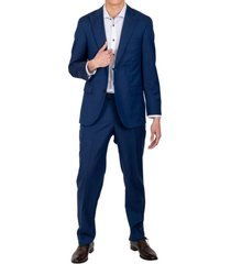 traje formal classic azul trial