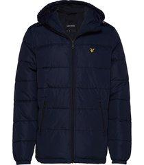 wadded jacket gevoerd jack blauw lyle & scott