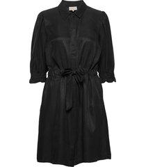 luciana dress korte jurk zwart minus
