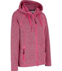 giacca lunga in pile (fucsia) - bpc bonprix collection