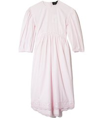smock dress in pink