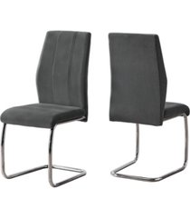 """monarch specialties dining chair - 2 piece 39"""" h"""