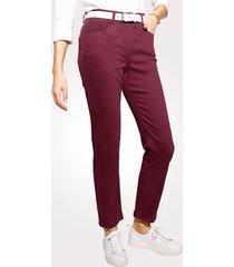 jeans mona bordeaux