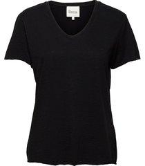 08 the vtee t-shirts & tops short-sleeved svart my essential wardrobe