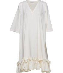 berle dress korte jurk wit holzweiler
