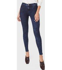 jeans ginger tiro medio pitillo black blue amalia jeans