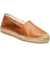 mia sandaletter expadrilles låga brun pavement