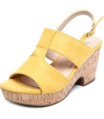 sandalia amarillo via rosmini