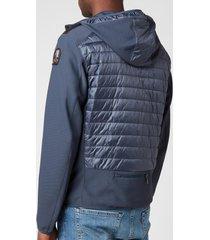 parajumpers men's nolan hybrid jacket - flint stone - s