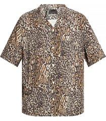 'meso' animal-motif shirt
