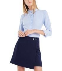 riley & rae madison twill mini skirt, created for macy's