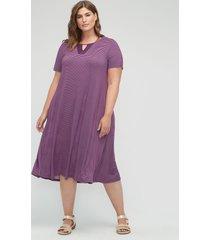 daylight stripe a-line dress (with pockets)