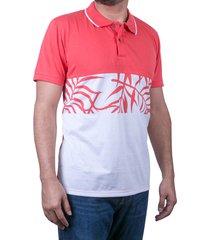 camiseta tipo polo-coral-puntazul-41444-coral