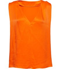 blo1018s91 t-shirts & tops sleeveless orange by malene birger