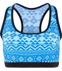 reggiseno bustier per bikini (blu) - bpc bonprix collection
